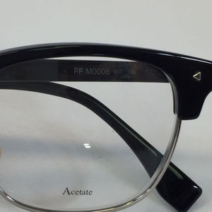 807a66c01f Fendi Accessories - New Fendi FF M0006 807 black Clubmaster style Eyeg